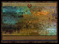 """A dramatic mosaic of water, flame, and smoke comprise this respectful homage to the great Roman city dramatically silenced in ash. One Size: 136cm * 180cm (Approx. 53"""" x 71"""") Produced on these Materia"""