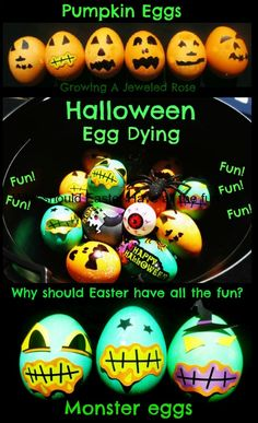 DIY Halloween Pumpkin Eggs Pictures, Photos, and Images for Facebook, Tumblr, Pinterest, and Twitter