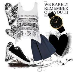 Bez tytułu #57 by x-insomnia on Polyvore featuring moda, Ally Fashion, Acne Studios, Alejandro Ingelmo and Larsson & Jennings