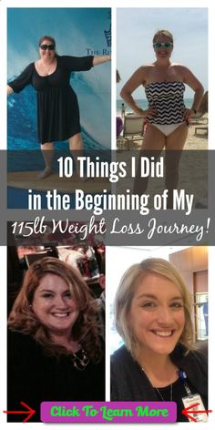 10 Things I Did in the Beginning of My 115lb Weight Loss Journey. #health #fitness #weightloss #healthyrecipes #weightlossrecipes