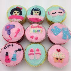 Slumber party cupcakes, The Cupcake Shop, Taipei