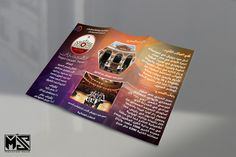 "Sayed Darwish Theater Trifold Brochure ""2"" #trifold #trifoldbrochure #arabictybe #arabicdesign #arabicart #calligraphy #calligraphydesign #thuluth #thuluthart #freefont"