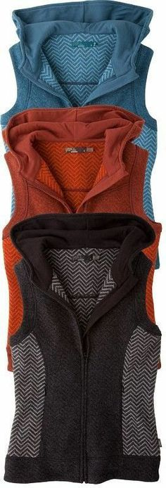 Sleeveless Different Colored Hoodies
