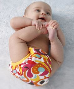If you cloth diaper, how cute are these gFlutter gPants by gDiapers