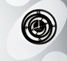 Modern wall clock Wall clock Clock Orbitmini by ModernWallClock, $39.88