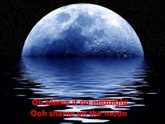 Bob Seger -Shame On The Moon  (With Lyrics)