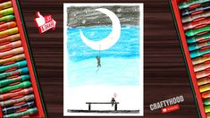 Hello Everyone 😊, Hope you are doing great ! In this video I show you how to draw Romantic Couple scenery, using oil pastels step by step for beginners. Oil Pastels, Romantic Couples, Hello Everyone, Fun Crafts, Scenery, Make It Yourself, Drawings, Simple, Painting
