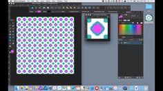Interactive Patterns on Affinity Designer on Vimeo