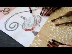 006# BDN Suite et Arrêt 1er partie (LADENTELLEDELILA.WIFEO.COM - YouTube Washer Necklace, Embroidery, Youtube, Christmas, Jewelry, Bobbin Lace, Papillons, Needlework, Yule