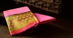 Gaatha a tale of handicrafts. Bright Pink, Pink Purple, Kanchipuram Saree, Cotton Silk, Handicraft, Silk Sarees, Blouse Designs, Indian Fashion, Yards