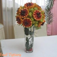 food topiary centerpieces | Fruit Topiary - courtesy of eRecipeCards.com