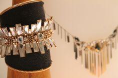 AUBURN cuff Auburn, Swarovski, Bracelets, Gold, Collection, Jewelry, Fashion, Moda, Jewlery