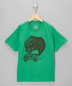 Take a look at this Shamrock Big Top Bear Tee by AMES BROS on #zulily today!