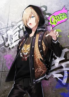 Yuri!!! On Ice, Yuri Plisetsky, Backpack, Black Pants, Asymmetrical Bangs