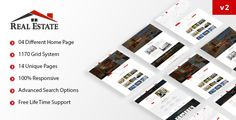 Realestate HTML5 Responsive Template http://themeforu.com #webdesign #website #design #responsive #besttemplates #template #SiteTemplates #Corporate #Business