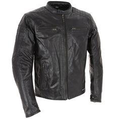 Richa Daytona Leather Jacket - Black - FREE UK DELIVERY