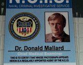 "NCIS Donald ""Ducky"" Mallard ID Forensics Specialist prop by UncleJacks"