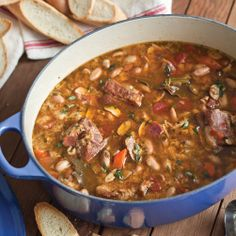 Country Cassoulet with Pork and Boiled Peanuts