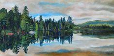 Northern Landscapes of Ontario Teresa Thompson Oakville Landscape Art, Landscape Paintings, Landscapes, Canadian Nature, Algonquin Park, Two Rivers, Canoe, Fine Art Photography, Ontario