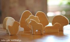 Inspiration for DIY wooden toys