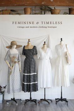 Korean Girl Fashion, Cute Fashion, Modest Fashion, Look Fashion, Fashion Dresses, Fashion Design, Apostolic Fashion, Modest Clothing, Vintage Dresses