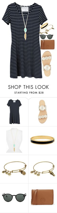"""""""let it be love.❤️ // Isabella"""" by preppy-southerners ❤ liked on Polyvore featuring United by Blue, Jack Rogers, Kendra Scott, Halcyon Days, Alex and Ani, Ray-Ban and Tory Burch"""
