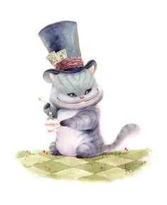Teatime With The Cheshire Cat