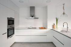 Smart Kitchen, Kitchen Reno, Kitchen Dining, Kitchen Cabinets, Küchen Design, House Design, Interior Design, Kitchen Organization, New Homes