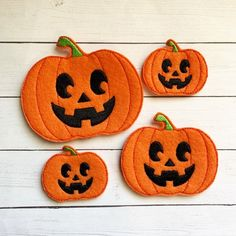 Scary face pumpkin embroidery file for 4x4 hoop jef hus exp files pes xxx