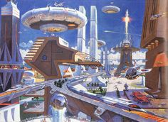 Horizons pavilion at EPCOT Center City of the Future
