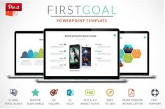 First Goal | Cool PowerPoint Themes