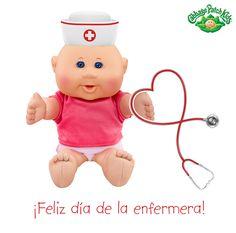 ¡Feliz día de la enfermera! #cabbagepatch #cabbagepatchkids #sketchers #muñeca #niñas #abrazo #palaciodehierro #liverpool #comercialmexicana #walmart #soriana #sears #chedraui #coppel #juguetron #HEB #kids #newborn