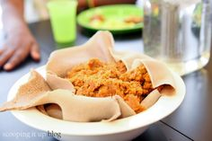 Craving that authentic Ethiopian flavor, grab some berebe spice and give this recipe a try! Vegan Recipes, Snack Recipes, Vegan Food, Ethiopian Cuisine, Soup And Sandwich, Cravings, Good Food, Bread, Vegane Rezepte
