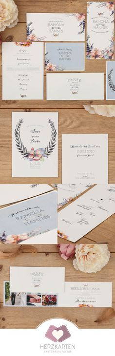 """The invitation card from the series """"Wild Rose"""" – hand-painted flowers and Floralel … - wedding decoration Invitation Cards, Wedding Invitations, Save The Date Karten, Beer Tasting, Watercolor Rose, Diy Gifts, Wedding Cards, Place Card Holders, Hand Painted"""