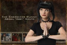 Abby Ncis Abby, Ncis New, Timothy Mcgee, Abby Sciuto, Pauley Perrette, Energizer Bunny, New Orleans, Tv Shows, Cosplay