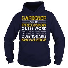 Gardener - Job Title, Order HERE ==> https://www.sunfrog.com/Jobs/Gardener--Job-Title-Navy-Blue-Hoodie.html?89700, Please tag & share with your friends who would love it , #christmasgifts #jeepsafari #superbowl