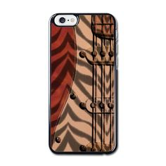 Zebra Coil iPhone 6/6S Hard Case (4.7 Inch) Black - SnapMade ($25) ❤ liked on Polyvore featuring accessories and tech accessories