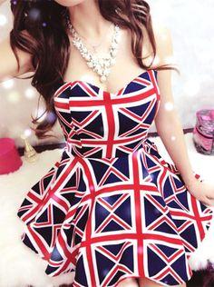 "Spotted while shopping on Poshmark: ""Union Jack Strapless Dress""! Union Jack Dress, Strapless Dress, Bodycon Dress, Mini Vestidos, Lauren, Club Dresses, Cheap Dresses, Sexy Dresses, Pulls"