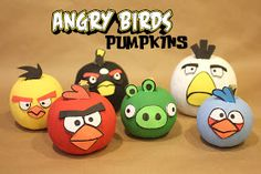 Repeat Crafter Me: Angry Birds Pumpkins