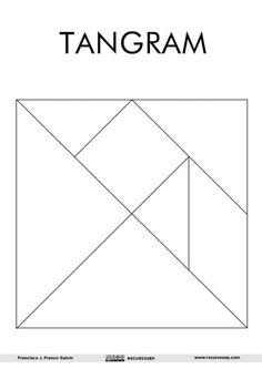 Tangram para IMPRIMIR y 60 figuras para construir Math For Kids, Activities For Kids, Crafts For Kids, Arts And Crafts, Paper Crafts, Preschool Education, Preschool Math, Tangram Puzzles, Printable Shapes