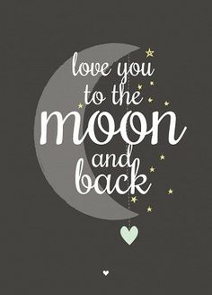Ansichtkaart love you to the moon zwart wit Favorite Quotes, Best Quotes, Love Quotes, Inspirational Quotes, Motivational, Illustration, Happy Thoughts, Wise Words, Party Supplies
