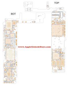 iphone 6s plus circuit diagram service manual schematic rh pinterest com