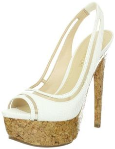 """Enzo Angiolini Women's Amure3 Slingback Sandal Enzo Angiolini. $130.00. Synthetic sole. Made in China. Manmade. none. Heel measures approximately 6."""". Platform measures approximately 2"""""""