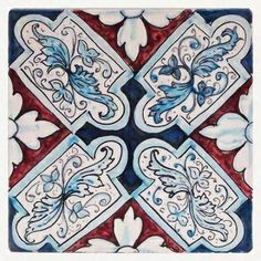 Sicilian tile from thatsarte.com