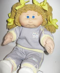 Cabbage Patch Kid by asterdaisy on Etsy, $26.00