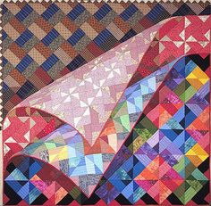 """Things Change by Jane Blair,  60 x 60"""".   This is one quilt!"""