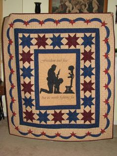 Freedom Quilt by Buffythequiltslayer