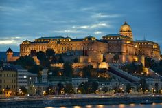 Buda Castle by Maxim Predtechenskiy #Budapest #travel #Hungary #Europe
