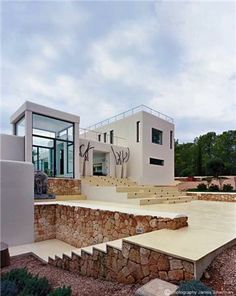Modern and amazing villa in #Ibiza #Spain #Holiday #Travel