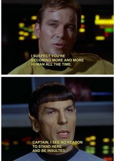 Oh Spock you.
